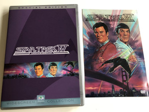 Star Trek IV - The Voyage Home Special Edition DVD 1986 Star Trek IV Zurück in die Gegenwart / Directed by Leonard Nimoy / Starring: William Shatner, Leonard Nimoy, DeForest Kelley, James doohan, George Takei, Catherine Hicks / 2DVD edition (StarTrekIV2dvdSpecial)