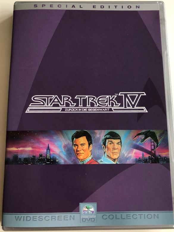 Star Trek IV - The Voyage Home Special Edition DVD 1986 Star Trek IV Zurück in die Gegenwart / Directed by Leonard Nimoy / Starring: William Shatner, Leonard Nimoy, DeForest Kelley, James doohan, George Takei, Catherine Hicks / 2DVD edition (StarTrekIV2dvdSpecial)