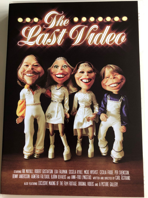 ABBA - The Last Video DVD 2004 / A smallscale comeback in The Last Video! / Directed by Carl Astrand / Starring: Rik Mayall, Robert Gustafson, Loa Falkman, Sissela Kyhle, Micke Nyqvist, Cecilia Frode (602498671542)