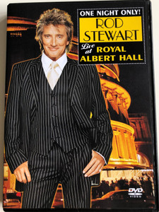Rod Stewart - Live at Royal Albert Hall DVD 2004 / One Night only! / BMG - BBC (828766568295)