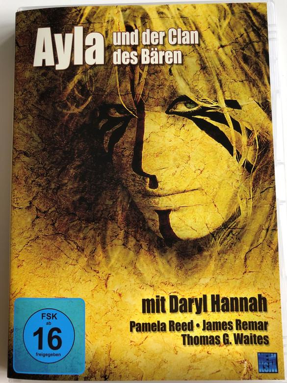 The Clan of the Cave Bear DVD 1986 Ayla un der Clan des Bären / Directed by Michael Chapman / Starring: Daryl Hannah, Pamela Reed, James Remar, Thomas Waites, John Doolittle (4260131122354)