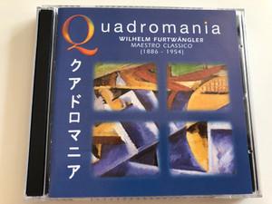 Quadromania - Wilhelm Furtwängler Maestro Classico (1886-1954) / Mozart, Beethoven, Tchaikovsky, Smetana, Bruckner / Audio CD 2004 / 4 CD SET (4011222221285)