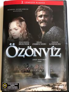 Potop DVD 1974 Özönvíz (The Deluge) / Directed by Jerzy Hoffman / Starring. Daniel Olbrychski, Malgorzata Braunek, Tadeusz Lomnicki (5996051435708)