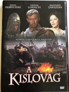 Pan Wolodyjowski DVD 1969 A Kislovag / Directed by Jerzy Hoffman / Starring. Tadeusz Lomnicki, Magdalena Zawadzka, Daniel Olbrychski, Wladislaw Hancza (5996051435722)