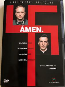 Amen DVD 2002 Ámen / Directed by Costa-Gavra / Starring: Ulrich Tukur, Mathieu Kassovitz, Ion Caramitru, Marcel Iureş (5999544250956)