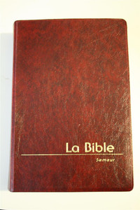 French Burgundy cover Bible / La Bible - Version Du Semeur Revision 2000 Edit...