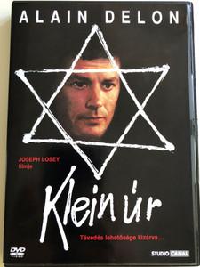 Mr. Klein DVD 1976 Klein Úr / Directed by Joseph Losey / Starring: Alain Delon, Jeanne Moreau, Francine Bergé, Juliet Berto, Jean Bouise, Suzanne Flon (5999546330311)