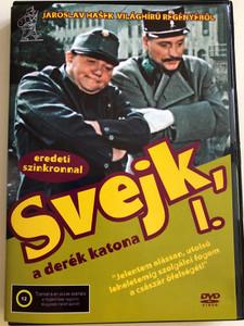 Dobry Voják Svejk 1. DVD 1956 Svejk a derék katona 1. / Directed by Karel Stekly / Starring: Rudolf Hrusinsky, Svatopluk Benes, Frantisek Filipovsky, Bozena Havlicková (5999545584470)