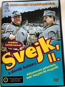 Dobry Voják Svejk 2. DVD 1956 Svejk a derék katona 2. / Directed by Karel Stekly / Starring: Rudolf Hrusinsky, Svatopluk Benes, Frantisek Filipovsky, Bozena Havlicková, Josef Hlinomaz (5999545584487)