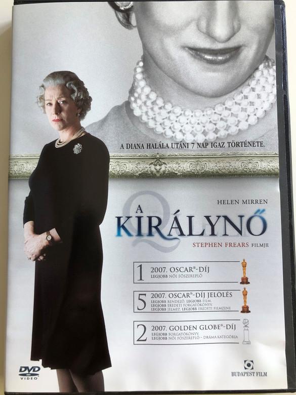 The Queen DVD 2006 A Királynő / Directed by Stephen Frears / Starring: Helen Mirren, Michael Sheen, James Cromwell, Helen McCrory, Alex Jennings (5999544251670)