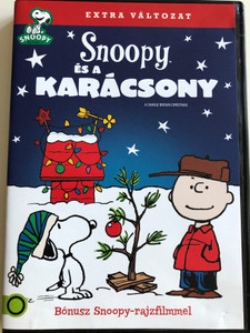 A Charlie Brown Christmas (Peanuts) DVD 1965 Snoopy és a Karácsony / Directed by Bill Melendez / With Bonus Snoopy - cartoon (5996514005387)