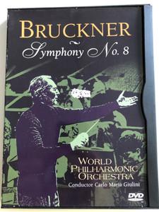 Bruckner - Symphony No. 8 DVD 1985 / World Philharmonic Orchestra / Conductor Carlo Maria Giulini (014381543421)