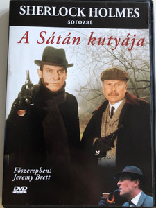 Sherlock Holmes - The Hounds of Baskervilles DVD 1988 Sherlock Holmes - A Sátán kutyája / Directed by Brian Mills / Starring: Jeremy Brett, Edward Hardwicke / Sherlock Holmes sorozat (5999882843186)