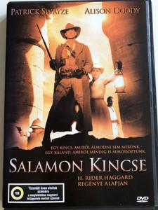King Solomon's Mines DVD 2004 Salamon Kincse / Directed by Steve Boyum / Starring: Patrick Swayze, Alison Doody (5999548220108)