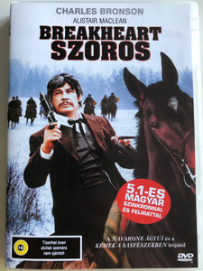 Breakheart Pass DVD 1975 Breakheart szoros / Directed by Tom Gries / Starring: Charles Bronson, Ben Johnson, Richard Crenna, Jill Ireland (5999553600421)