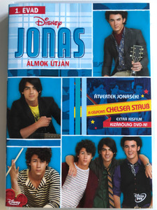 Jonas - Keeping it Real Vol. 1 DVD 2009 Jonas - Álmok útján / Disney / Directed by Lev L. Spiro / Starring: Kevin Jonas, Joe Jonas, Nick Jonas, Chelsea Staub (5996255730654)