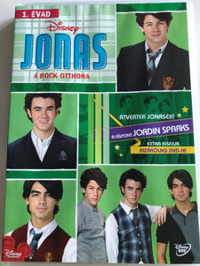 Jonas - Rock stars in the house Vol. 2 Season 1 DVD 2009 Jonas - A Rock Otthona / Disney / Directed by Lev L. Spiro / Starring: Kevin Jonas, Joe Jonas, Nick Jonas, Chelsea Staub / 7 episodes on disc (5996255730975)