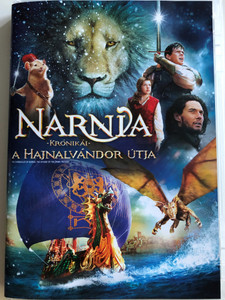 The Chronicles of Narnia: The Voyage of the Dawn Treader DVD 2010 Narnia Krónikái: A hajnalvándor útja / Directed by Michael Apted / Starring: Skandar Keynes, Georgie Henley, Ben Barnes, Will Poulter, Tilda Swinton, Liam Neeson (599625735567)