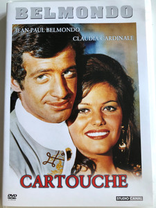 Cartouche DVD 1975 / Directed by Philippe de Broca / Starring: Jean-Paul Belmondo, Claudia Cardinale, Jess Hahn, Marcel Dalio, Jean Rochfort, Philippe Lemaire (5999546330144)