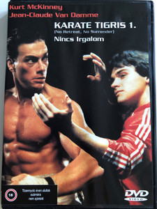 No Retreat, No Surrender DVD 1985 Karate tigris 1. - Nincs irgalom / Directed by Corey Youen / Starring: Kurt McKinney, Jean-Claude Van Damme (5999517470886)