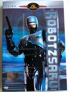 Robocop DVD 1987 Robotzsaru / Directed by Paul Verhoeven / Starring: Peter Weller, Nancy Allen, Daniel O'Herlihy, Ronny Cox, Kurtwood Smith, Miguel Ferrer / Extra változat (5996255711073)