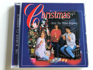 Christmas with the Three Degrees / 16. X-Mas Classics / Audio CD 1998 / Elap Music (5706238322802)