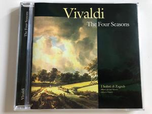 Vivaldi - The Four Seasons / I Solisti di Zagreb / Musici di San Marco / Conducted by Aberto Lizzio / Audio CD 1998 / Bellevue (5703976102888)