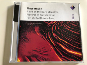 Mussorgsky - Night on the Bare Mountain, Pictures at an Exhibition, Prelude to Khovanchina / Toronto Symphony Orchestra / Conducted by Jukka- Pekka Saraste / Apex / Audio CD 1996 (685738843220)