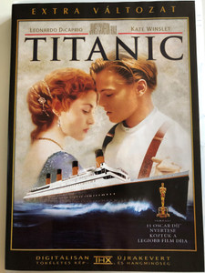 Titanic 1997 DVD Deluxe Collectors Edition / 2 DVD / Directed by James Cameron / Starring: Leonardo DiCaprio, Kate Winslet, Billy Zane, Kathy Bates, Frances Fisher, Bernard Hill (5996255718508)
