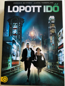 In Time DVD 2011 Lopott Idő / Directed by Andrew Niccol / Starring: Amanda Seyfried, Justin Timberlake, Cillian Murphy, Olivia Wilde (8590548615634)