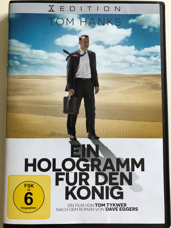 A Hologram for the King DVD 2016 Ein hologram für den König / Directed by Tom Tykwer / Starring tom Hanks, Alexander Black, Sarita Choudhury, Sidse Babett Knudsen (5051890302588)