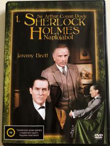 The Casebook of Sherlock Holmes 1. DVD 1991 Sherlock Holmes Naplójából / Directed by John Madden, Michael A. Simpson / Starring: Jeremy Brett, Edward Hardwicke, Rosalie Williams / Disc 1. - Episodes 1-2 / Sir A. Conan Doyle (5999545586221)