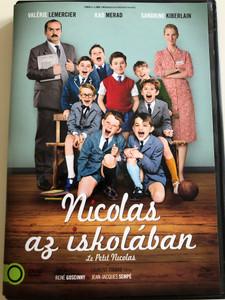 Le Petit Nicolas DVD 2009 Nicolas az iskolában / Directed by Laurent Tirard / Starring: Maxime Godart, Kad Merad, Valérie Lemercier (5996471001477)