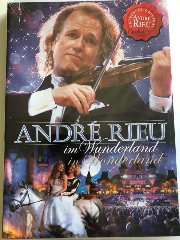 André Rieu in Wonderland DVD 2007 / Universal Original / DVD-Video Concert (0602517439382)