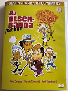 Olsen Banden pa Spanden DVD 1969 Az olsen-banda pácban / Directed by Erik Balling / Starring: Ove Sprogøe, Poul Bundgaard, Morten Grunwald, Peter Steen, Jes Holtso (5999883047088)