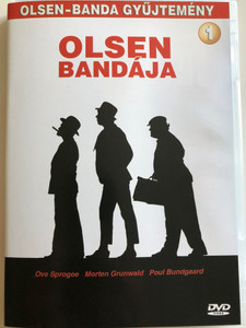 Olsen Banden DVD 1968 Olsen Bandája / Directed by Erik Balling / Starring: Ove Sprogøe, Poul Bundgaard, Morten Grunwald, Peter Steen, Jes Holtso / Olsen gang collection 1. (5999883047071)