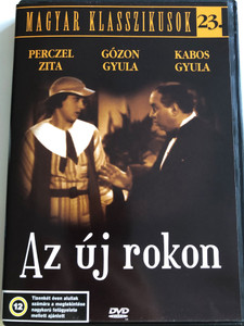 Az új rokon DVD 1934 The New Relative / Directed by Gaál Béla / Starring: Perczel Zita, Gózon Gyula, Kabos Gyula, Berky Lili / Hungarian B&W Classic / Magyar klasszikusok 23. (.5999016344275)