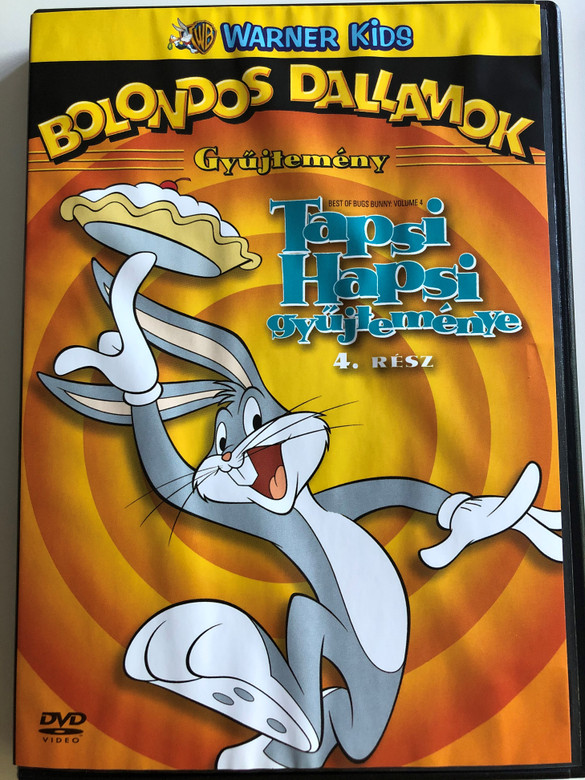 Best of Bugs Bunny: Volume 4 DVD 2006 Tapsi Hapsi gyűjteménye 4. / Directed by Friz Freleng , Robert McKimson, Chuck Jones / 14 episodes on disc (5999048911223)