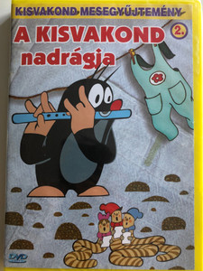 Krtek's Pants (Little Mole) Series 2. DVD 2000 A Kisvakond nadrágja - Kisvakond mesegyűjtemény 2. / 8 episodes on disc / Classic Czech Cartoon / Created by Zdeněk Miler (5998329507698)