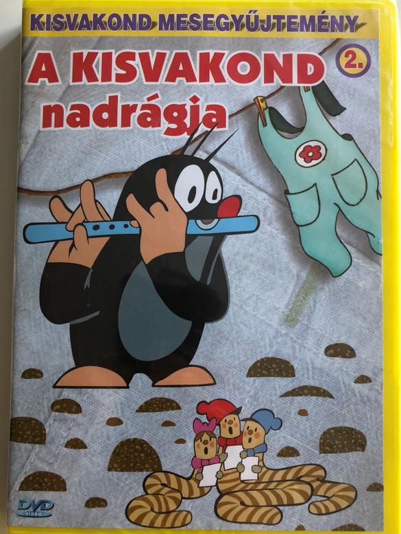 Krtek's Pants (Little Mole) Series 2. DVD 2000 A Kisvakond nadrágja - Kisvakond mesegyűjtemény 2. / 8 episodes on disc / Classic Czech Cartoon / Created by Zdeněk Miler (5998329507698)