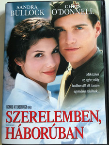 In love and War DVD 1996 Szerelemben, háborúban / Directed by Richard Attenborough / Starring: Sandra Bullock, Chris O' Donnell, Mackenzie Astin, Emilio Bonucci (5999075602439)
