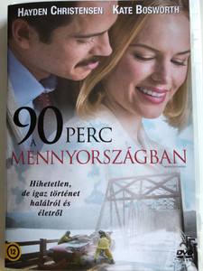 90 minutes in heaven DVD 2015 90 perc a mennyországban / Directed by Michael Polish / Starring: Hayden Christensen, Kate Bosworth (8590548613296)