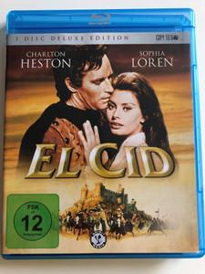 El Cid DVD 1961 - 3 disc DELUXE edition / Directed by Anthony Mann / Starring: Charlton Heston, Sophia Loren, Raf Vallone, Geneviève Page, John Fraser, Gary Raymond, Herbert Lom, Douglas Wilmer (4020628959357)