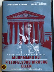 Muhammad Ali's Greatest Fight DVD 2013 Muhammad Ali a legfelsőbb bíróság ellen / Directed by Stephen Frears / Starring: Christopher Plummer, Frank Langella, Benjamin Walker (5996514017779)
