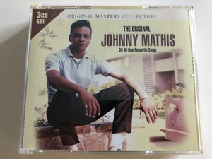 The Original Johnny Mathis / 38 All-time Favourite Songs / 3 CD SET / Original Masters Collections / Play 3-011 (5051503301137)