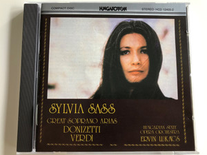 Sylvia Sass / Great soprano Arias / Donizetti, Verdi / Hungarian State Opera Orchestra / Conducted by Ervin Lukács / HCD 12405-2 / Hungaroton Audio CD (HCD12405-2)