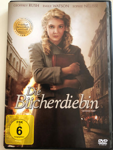 The Book Thief DVD 2013 Die Bücherdiebin / Directed by Brian Percival / Starring: Geoffrey Rush, Emily Watson, Sophie Nélisse (4010232062796)