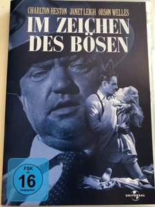 Touch of Evil DVD 1958 Im Zeichen des bösen / Directed by Orson Welles / Starring: Charlton Heston, Janet Leigh, Orson Welles, Joseph Galleia, Akim Tamiroff (5050582517927)