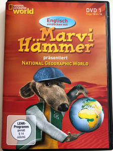 Marvi Hämmer präsentiert National Geographic World vol 1. DVD 2006 / Episodes 13 - 16 / German & English Documentary about animals for children (MarviHammerDVD1)
