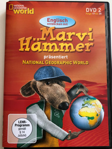 Marvi Hämmer präsentiert National Geographic World vol 2. DVD 2006 / Episodes 17 - 20 / German & English Documentary series for children (MarviHammerDVD2)